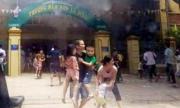Bộ đội sơ tán 360 học sinh mầm non khỏi đám cháy