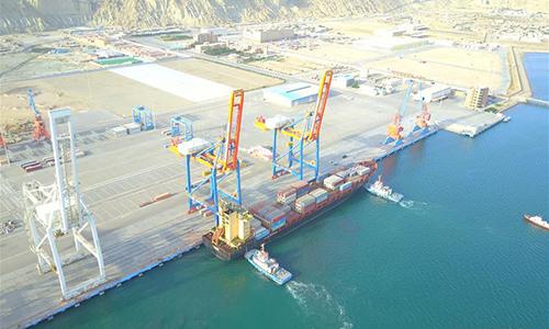 Cảng Gwardar ngày 24/3/2018. Ảnh: Xinhua