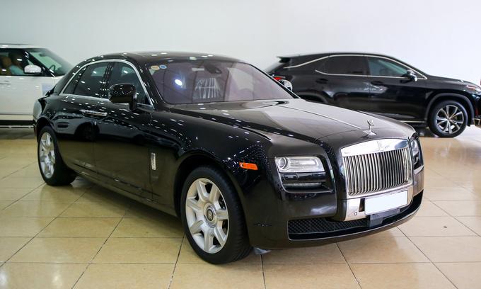 Rolls-Royce Ghost 2011 giá 10 tỷ đồng
