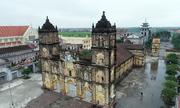 Cục Di sản khảo sát tình trạng lún nứt nhà thờ Bùi Chu