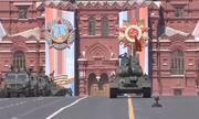 Dàn khí tài Nga luyện tập duyệt binh Ngày Chiến thắng trên Quảng trường Đỏ