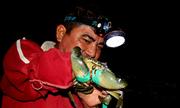 Người dân Vũng Tàu xả cạn nước hồ bắt cua, cá trong đêm