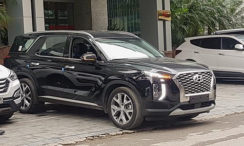 Hyundai Palisade tại trụ sở của tập đoàn Thành Công. Ảnh: Tới Nguyễn.