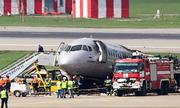 Tổ lái của máy bay Nga bốc cháy có thể mắc một loạt sai lầm