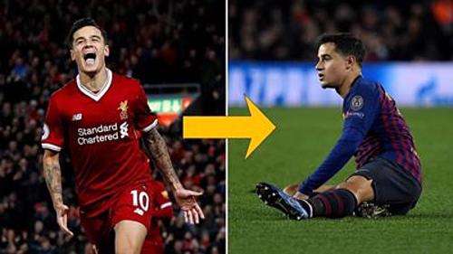 Coutinho cũng không ngoại lệ, vì hai năm trước anh rời Liverpool đến Barca để ôm mộng giành được cup C1, nhưng hai năm sau Liverpool đều vào chung kết. Nhiều người ví von: Coutinho là thánh nhọ của giải Champios League.