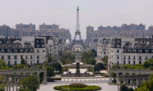 Paris thu nhỏ tại Trung Quốc