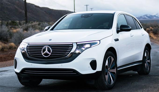 Xe điện Mercedes EQC ra mắt
