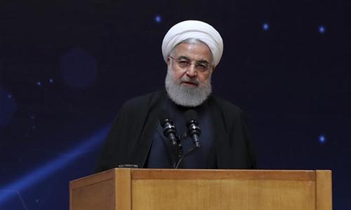 Tổng thống Hassan Rouhani, Chủ tịch Hội đồng An ninh tối cao Iran. Ảnh: Reuters.