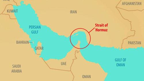 Vịnh Ba Tư (Persian Gulf) là vùng biển hẹp nằm ngay cạnh đường bờ biển dài của Iran. Đồ họa: Sun Daily.