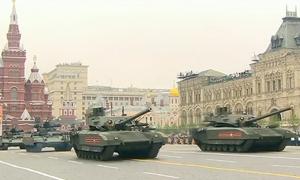 Dàn khí tài tham gia Duyệt binh Chiến thắng tại Moskva