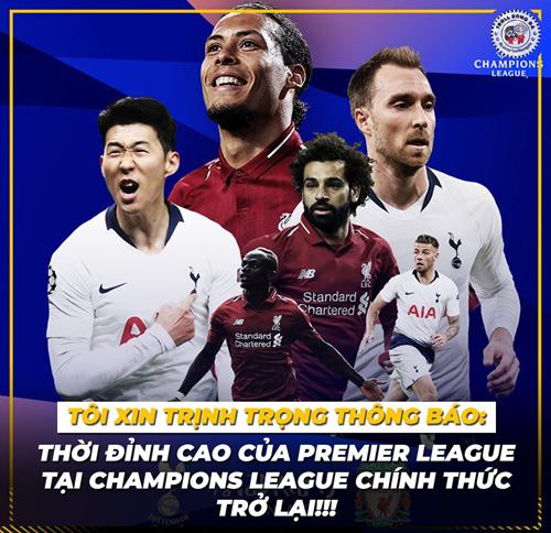 Thời của bóng đá Anh lại đến.