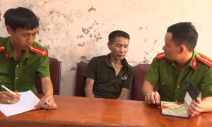 Tội phạm truy nã mua bán ma túy bị bắt giữ ở Nghệ An