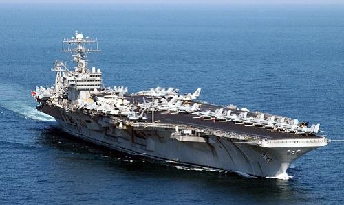 Tàu sân bay USS Abraham Lincoln. Ảnh: Navy Times.