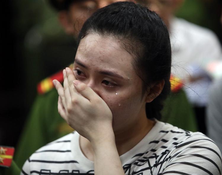 Ngọc Miu khi bị đề nghị 20 năm tù. Ảnh: Thành Nguyễn.