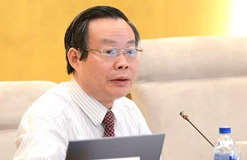Phó chủ tịch Quốc hội Phùng Quốc Hiển. Ảnh: Trung tâm báo chí Quốc hội