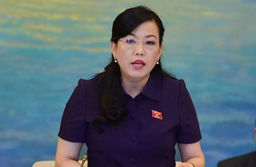 Trưởng Ban Dân nguyện Nguyễn Thanh Hải. Ảnh: Trung tâm báo chí Quốc hội.