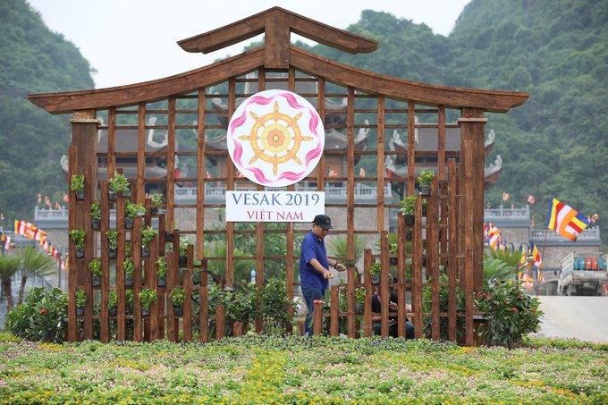 Chùa Tam Chúc sẵn sàng cho đại lễ Phật đản
