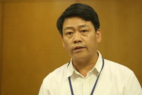 Ông Nguyễn Thượng Hiền, Vụ trưởng Vụ quản lý chất thải. Ảnh: Gia Chính