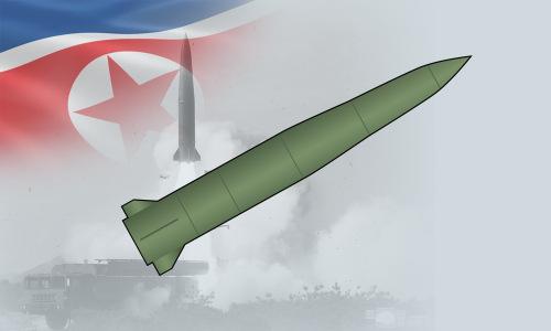Mẫu tên lửa đạn đạo Triều Tiên vừa liên tục phóng thử. Bấm vào ảnh để xem đầy đủ.