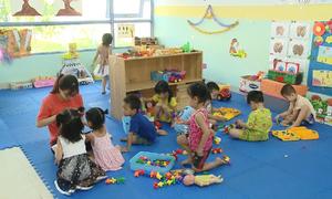 Trường mầm non chuẩn quốc tế dành cho con công nhân ở Đà Nẵng