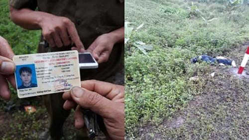 Hiện trường nơi phát hiện nam than niên tử vong ở thị xã Đông Triều. Ảnh: CTV