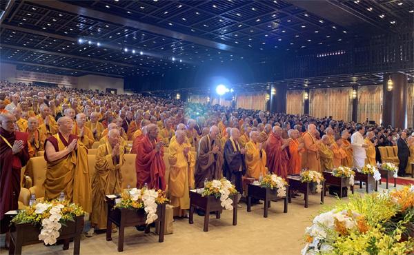 Vesak 2019 tổ chức tại chùa Tam Chúc, Hà Nam.