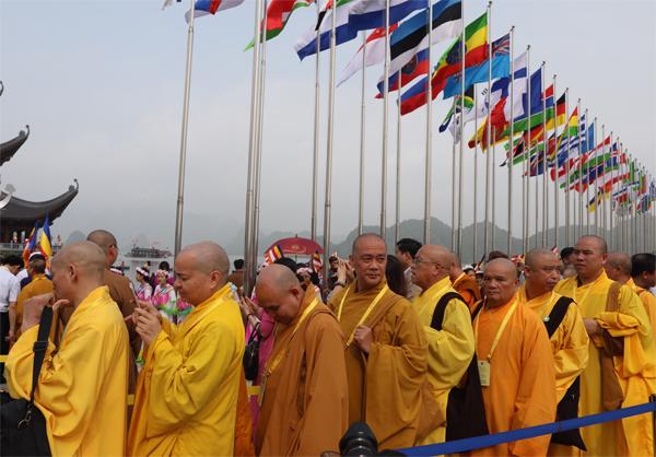 Hơn 1.600 đại biểu quốc tế dự Vesak 2019.Ảnh: Ngọc Thành