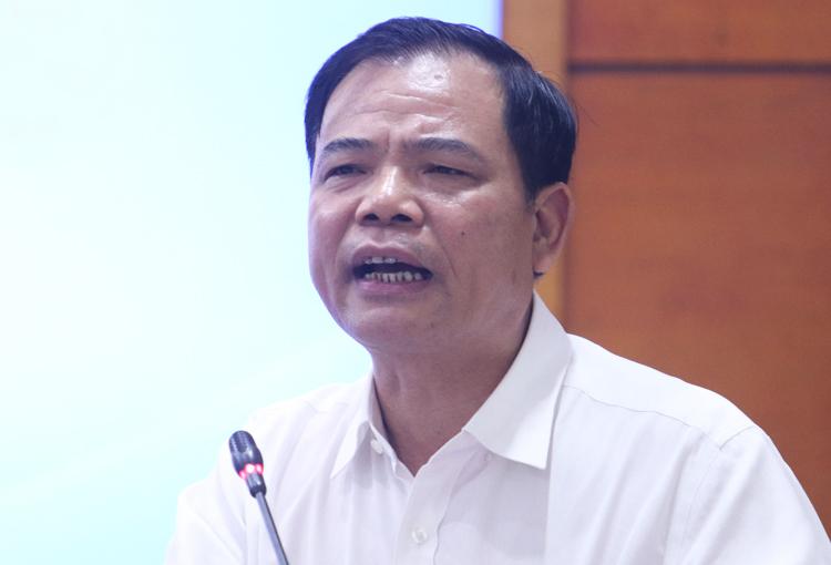 Bộ trưởng Bộ Nông nghiệp và Phát triển nông thông Nguyễn Xuân Cường. Ảnh: Võ Hải