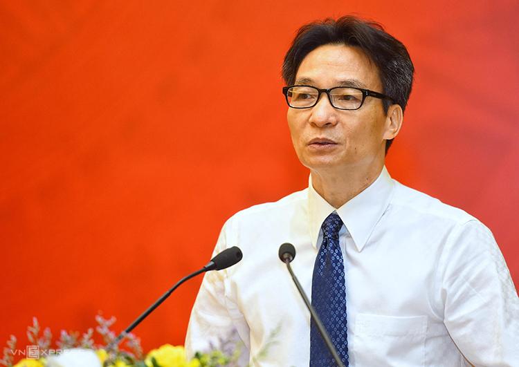Phó Thủ tướng Vũ Đức Đam phát biểu tại sự kiện. Ảnh: Giang Huy.