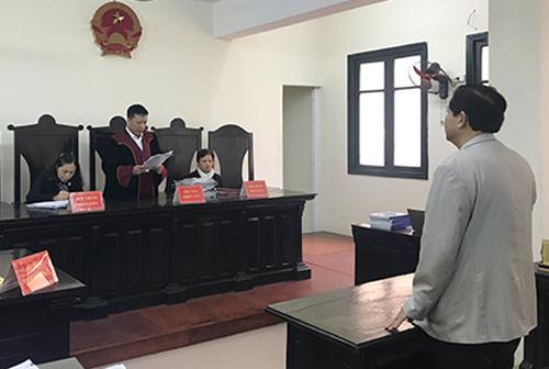 Tòa tuyên án hôm 14/12/2018. Ảnh: Phạm Dự