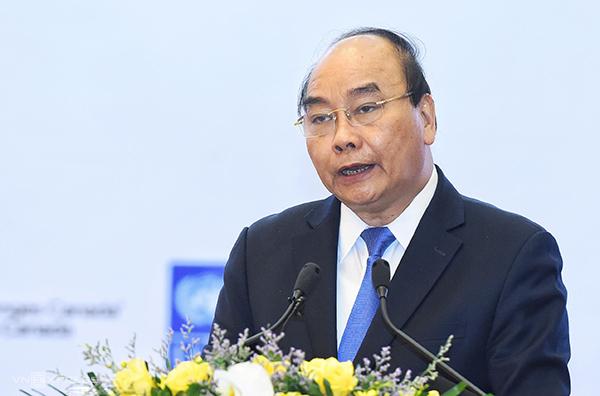 Thủ tướng Nguyễn Xuân Phúc phát biểu kết luận.