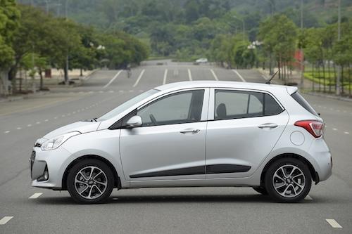 Hyundai i10 thể hiện ưu thế vượt trội trong phân khúc. Ảnh: Thắng Trần