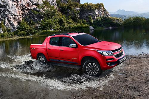 Chevrolet Coloroda giảm sức hút ở phân khúc xe bán tải.