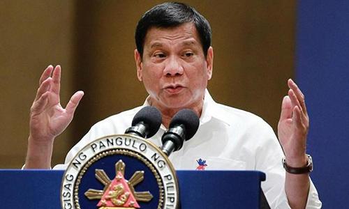 Tổng thống PhilippinesRodrigo Duterte. Ảnh: Eclipse
