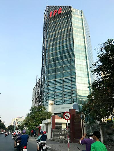 Trụ sở Công ty TNHH MTV phát triển công nghiệp Tân Thuận (IPC) ở quận 7. Ảnh: Vũ Mai.