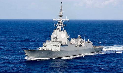Tàu hộ vệ Mendez Nunez của Tây Ban Nha. Ảnh: US Navy.