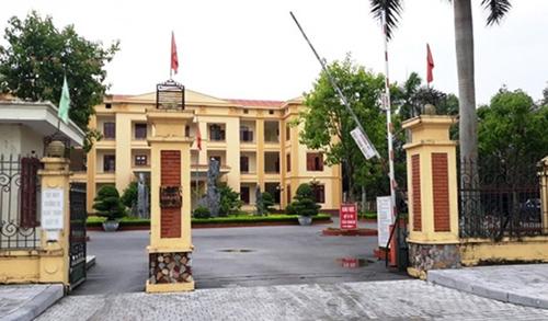 Trụ sở UBND huyện Quảng Xương, nơi có nhiều cán bộ sai phạm chuyên môn, bị khởi tố. Ảnh: Lam Sơn.