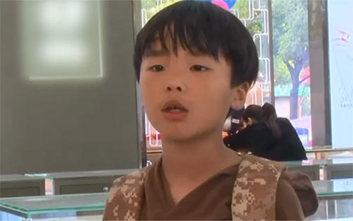 Cậu bé Guo Yifan. Ảnh: Pear