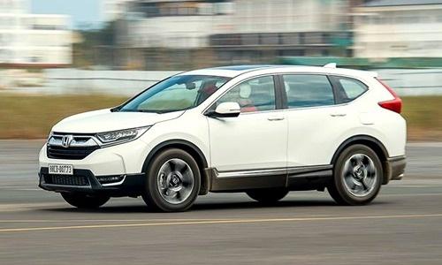 Honda CR-V chiếm ưu thế trước Mazda CX-5.