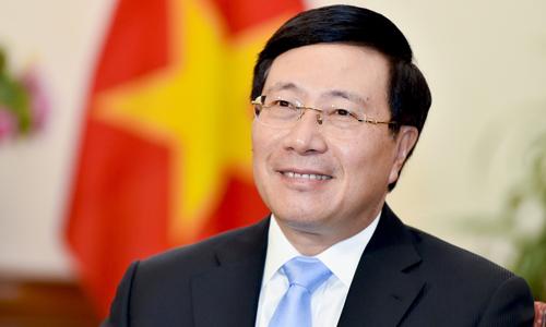 Phó thủ tướng, Bộ trưởng Ngoại giao Phạm Bình Minh. Ảnh: TGVN.