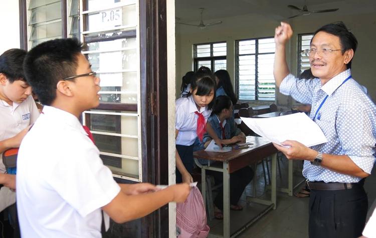 Học sinh Đà Nẵng thi vào lớp 10 năm học 2018-2019. Ảnh: C.V.