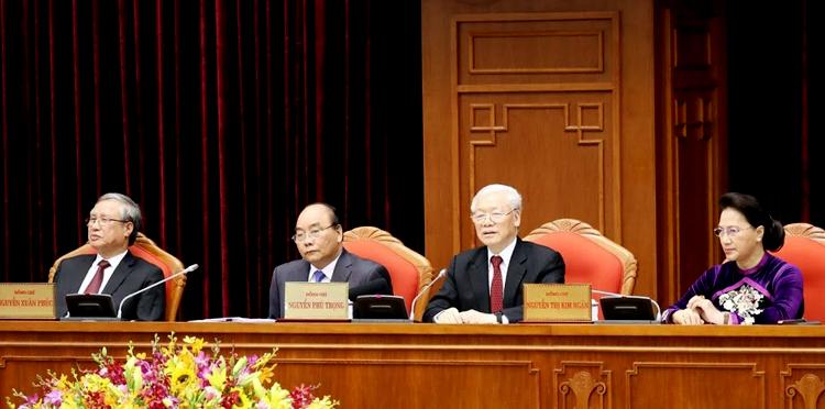 Thủ tướng Nguyễn Xuân Phúc được phân công điều hành phiên khai mạc. Ảnh: TTX