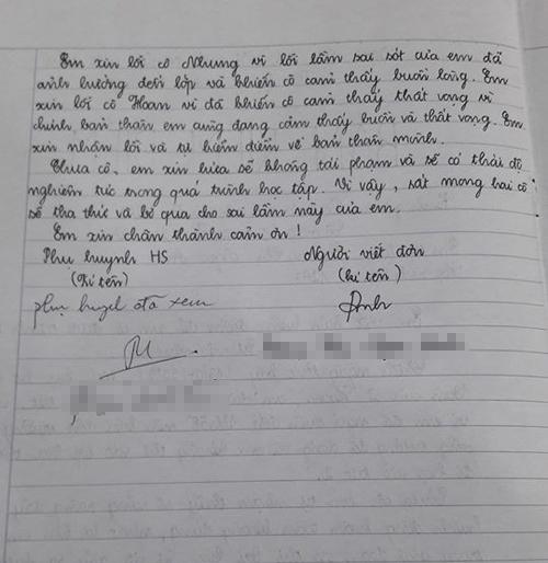 Khi học sinh chuyên Văn viết bản kiểm điểm vì đi học muộn - 1
