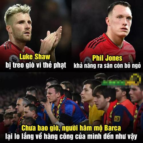 Fan Barca có lý do lo lắng khâu ghi bàn khi đối thủ vắng cặp đôi này.