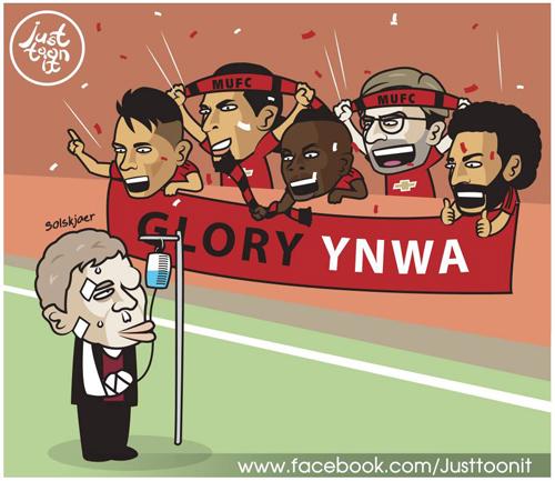 Liverpool bỗng trở thành fan cứng của Man Utd.
