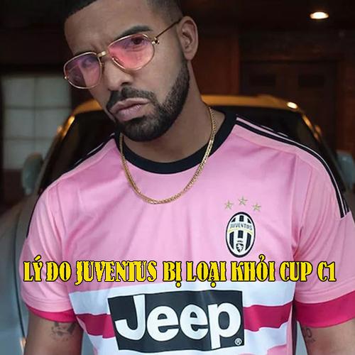 Chỉ cần mặc áo đấu thôi cũng đủ khiến Juve rời Champions League.