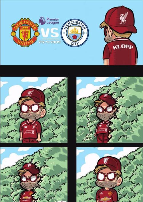Khi HLV Liverpool thành fan 20 năm của Man Utd.