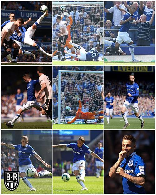 Tổng hợp trận Everton và quân xanh.