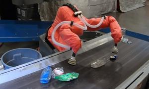 Robot ứng dụng trí tuệ nhân tạo để phân loại rác