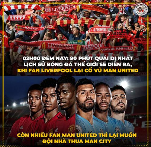 Nếu thắng hay thua thì Man Utd cũng đều no đòn với CĐV nhà.